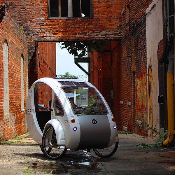 Organic Transit Exercise Your Power Elf Solar Pedal Power