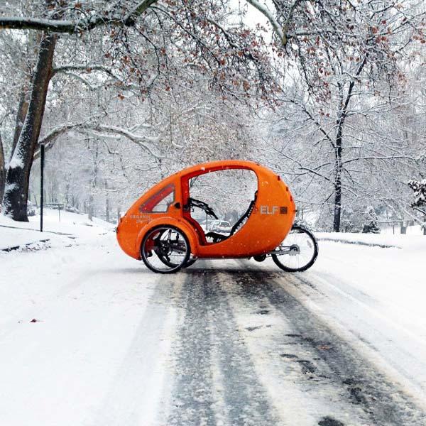 Pedal Powered Electric Car Elf